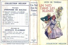 Nelson Avec Jaquette . Léon De Tinseau . Un Nid Dans Les Ruines . - Livres, BD, Revues