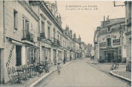 St Avertin (Indre Et Loire) Carrefour De La Mairie -restaurant -café - Saint-Avertin