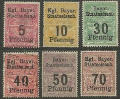 GERMANY Railway Eisenbahn Kgl. Bayerische Staatseisenbahnen */o - Bavière