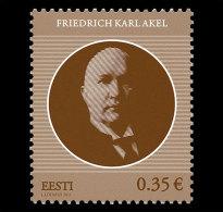 Estonia 2011 Set - Friedrich Karl Akel - Estonie