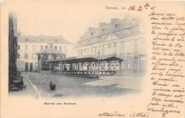 59.  DOUAI.  MARCHE AUX POISSONS.  BEAU PLAN.   DOS NON DIVISE.  1901 - Douai