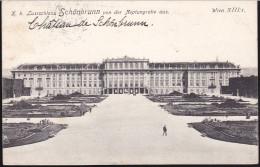 CPA - (Autriche) Wien - Lustschloss Schonbrunn Von Der Neptungrotte Aus. - Château De Schönbrunn