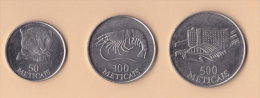 Mozambico 500 + 100 + 50 Meticais  1994 - Mozambico