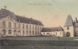 BRESLES : La Mairie - Belle Carte Toilée Couleur - Sonstige Gemeinden