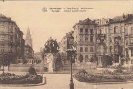 Antwerpen    Anvers     Standbeeld Lambermont      Scan 7615 - Antwerpen