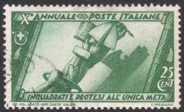 Italy, 25 C. 1932, Sc # 294, Mi # 419, Used - 1900-44 Vittorio Emanuele III