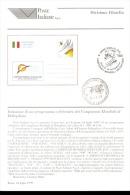 1999 Bollettino Cartolina Postale Celebrativa Deicampionati Mondiali Di Deltaplano - Paracadutismo
