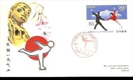 SAPPORO WINTER OLIMPIC GAME 1972 PATTINAGGIO - Pattinaggio Artistico
