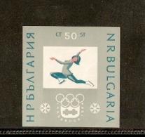 BULGARIA ATISTIC SKATTING PATTINAGGIO INSBRUCHK1964 OLIMPIC GAME - Pattinaggio Artistico