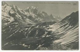 74 - Aiguille Des Glaciers - Mont-Blanc  -  Col Et Golet De La Seigne - France