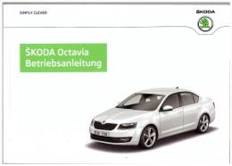 Neue Betriebsanleitung Skoda Octavia , 227 Seiten !!! - KFZ