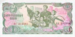 Korea North 1 Won 1978 Pick 18a UNC - Korea, North