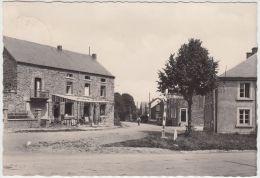 22351g HOTEL CENTRAL - ROUTE Vers TRANSINNE - Panneau LIBIN - Maissin - Carte Photo - 14.7x10.2c - Paliseul