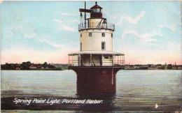 Spring Point Light, Portland Harbor - Portland