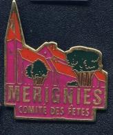 """"""" MERIGNIES """"   Comité Des Fêtes  Ble Pg3 - Städte"""