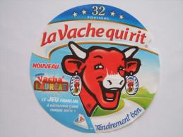 Etiquette Fromage LA VACHE QUI RIT - Vacha'Lauréat - 32 Portions - Fromage