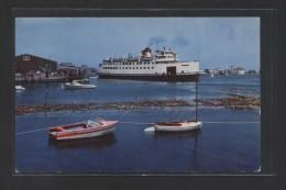 Nantucket. Mass. *Woods Hole-Nantucket Steamer...*  Ed. Mike Roberts Nº C12822. Nueva. - Nantucket
