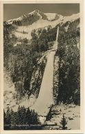 Oberstdorf 12147 Ski Flugschanze Tremplin Saut A Ski 1951 Post Mark Competition - Oberstdorf