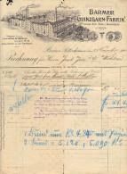 BARMER GLANZGARN-FABRIK - BARMEN RITTERSHAUSEN - 23-11-1900 - Germania