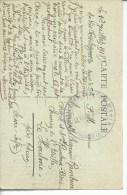 """77 Provins FM""""hopital Compléme,taire N°3*provins (S.et M.)"""" Pour Le Houlme - Oorlog 1914-18"""
