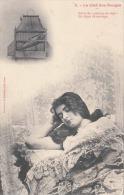 """La Clef Des Songes - Rèver De """"poisson En Cage"""", Est Signe De Mariage, Schlafendes Mädchen Und Ihr Traum, 1900? - Frauen"""