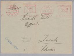 Motiv Blinde 1923-10-17 Wien Firmenfreistempel Hilfsver. D.jüdischen Blinden - Timbres