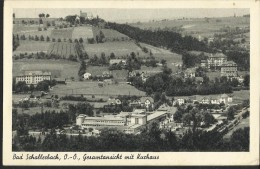 """Bad Schallerbach   """"Gesamtansicht Mit Kurhaus""""   Beschrieben - Bad Schallerbach"""