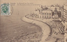 Belgique - Oostende - Ostende - Vue Aérienne Plage Kursaal - Oostende