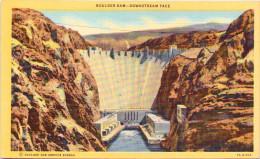 Boulder Dam - Downstream Face, Nevada - Etats-Unis