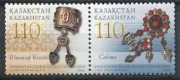 102 KAZAKHSTAN 2006 - Bijoux Bracelet Broche - Neuf Sans Charniere (Yvert 454/55) - Kazakhstan