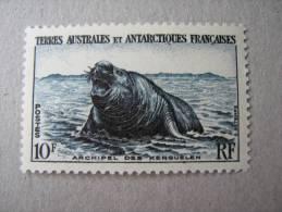 TAAF   P 6  * *   ELEPHANT DE MER  KERGUELEN - Unused Stamps