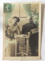 Cpa La Raison - Couples