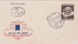 Ersttag Briefcuvert - Tag Der Briefmarke 1953 Mit Stempel Wien 1 - 1945-.... 2. Republik
