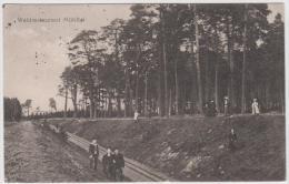 AK - BROMBERG - Waldrestaurant Mühltal Mit Ausflügler 1916 - Pommern