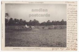 ALGERIA / ALGERIE - BISKRA - Un Cimetiere Arabe / Arab Cemetery - 1903 UDB Vintage Postcard - Biskra