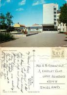 Library, Eskilstuna, Sweden Postcard Posted 1970 Stamp - Suède