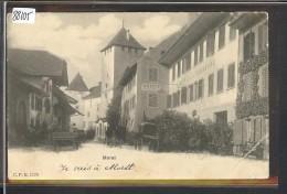 MORAT - MURTEN  - ( FORT PLI D'ANGLE ) - FR Fribourg