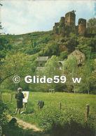 BELCASTEL - Environs De Rignac - Le Hameau Et Les Ruines Du Château (animée) - N° 12-BE-111 - Autres Communes