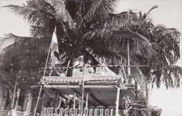 Südostasien Festzug Zeremonie  Fotokarte 1950? - Indonesien