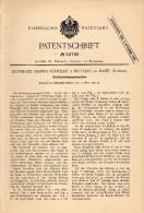 Original Patent - L. Mesmer-Jourdan In Muttenz B. Arlesheim , 1890, Maschine Für Straßenreinigung , Kehrmaschine , Base - Machines