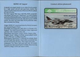 UK - L&G - BTG156 - SEPECAT Jaguar - 324H - 600 Ex. - MINT+Folder - Royaume-Uni