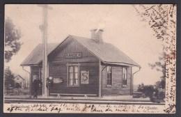 Stationshuset, Bander, Gotland - Railway Station - Zweden