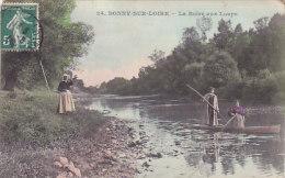 45 - Bony-sur-Loire - La Boire Aux Loups (animée, Colorisée) - France