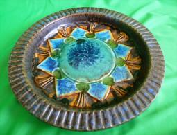 Vintage Sweden TILGMANS Keramik Plate Bowl Retro Ceramic 1960 - 1970 - Unclassified