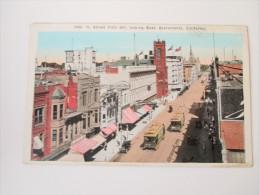 Postcard K. Street From 6th, Looking East Sacramento, California. P.N.C. Not Used!! - Etats-Unis