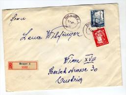 Lettre ,R.P. ROMINA , R , Recommandé Brasov 4 , 1969 - Poststempel (Marcophilie)