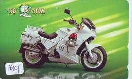Télécarte Japon * MOTOR  * POLICE (1684)  Phonecard Japan * TELEFONKARTE * MOTORBIKE * - Police