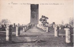 CPA Rabat - La Tour Hassan Et Les Ruines De La Mosquée - 1927 (6013) - Rabat