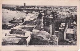 CPA Rabat - Panorama Vu De La Porte De Oudaias - 1927 (6016) - Rabat