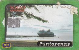 Costa Rica, CRI-C-60, Provinces, Puntarenas (1St Edition), 2 scans.